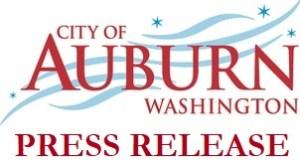 city of auburn, city of auburn press release, auburn wa, auburn washington