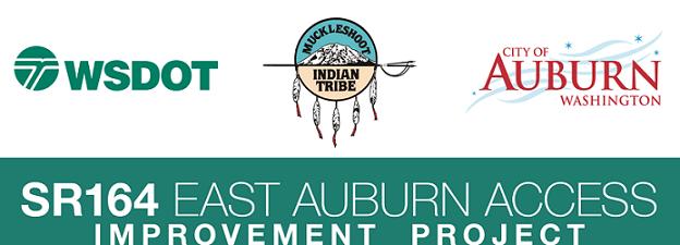 muckleshoot indian tribe, sr164 access auburn, sr164 east access auburn improvement project, city of auburn, wsdot