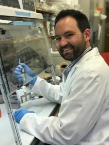 defeat DIPG, DIPG, Zach Reitman PHD, medical lab