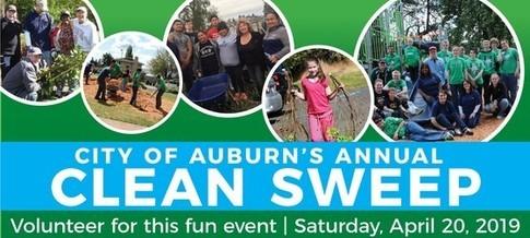 clean sweep 2019, auburn's clean sweep, city of auburn, auburn wa