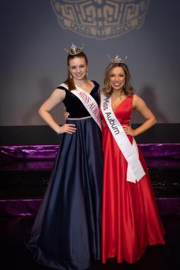 Miss Auburn, Amanda Enz, Miss Auburn's Outstanding Teen, Austin Douglas, miss auburn and miss auburn's outstanding teen scholarship program, city of auburn