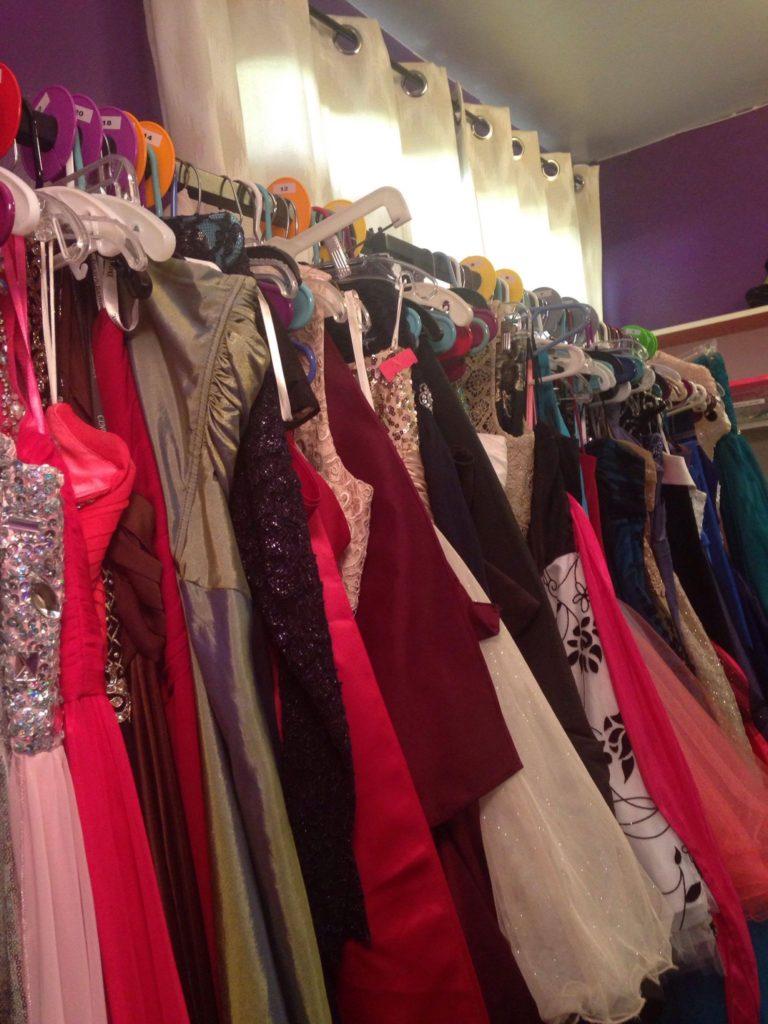 Auburn Prom Dress