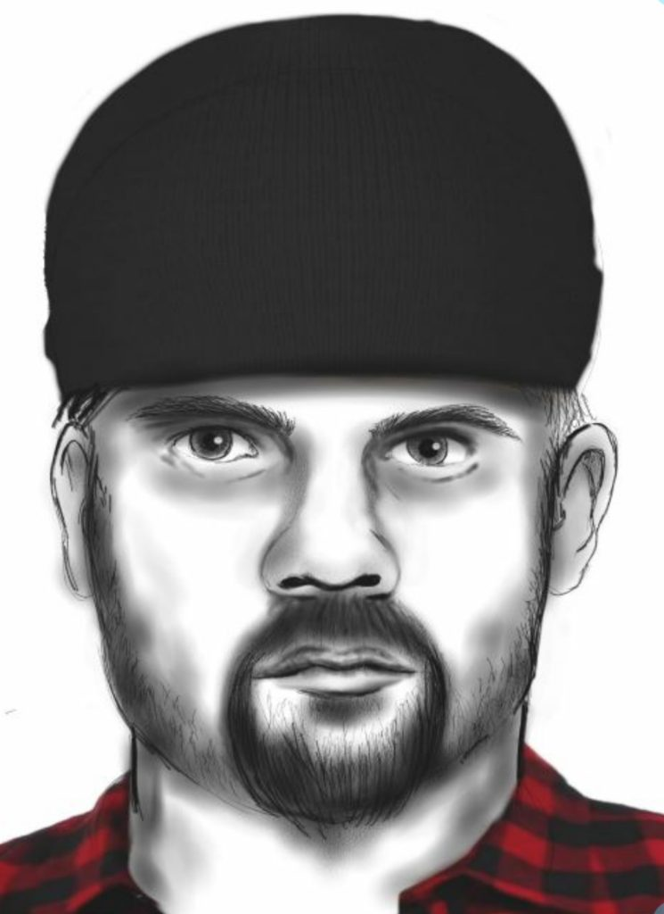 Wsp, Washington State Patrol, suspect sketch, 509 shooter