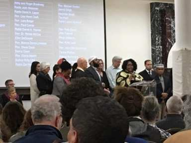 interfaith leaders, interfaith vigil and anti-Islamophobia teach-in, redmond mosque, MAPS