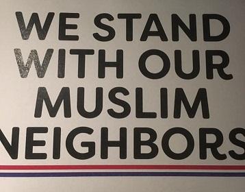Interfaith Vigil and Teach In, MAPS, MAPS-AMEN, CAIR-WA, Kim Schrier, INTERFAITH VIGIL & ANTI-ISLAMOPHOBIA TEACH-IN, Aneelah Afzali, Vicki Bates, City of Auburn