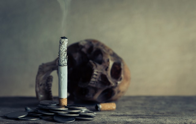 quit smoking, smoking kills, ash tray, skull, cigarette, money for your lungs