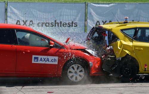 crash test, car accident