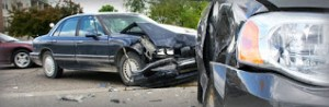 totaled car, car accident
