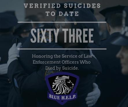 blue help, suicide prevention, law enforcement suicide,