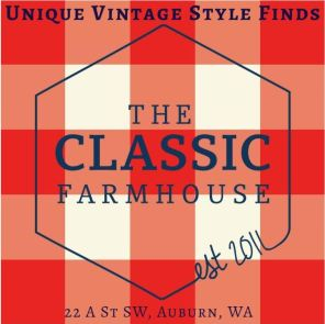 the classic farmhouse, auburn wa, unique vintage furniture, shabby chiq, unique gifts