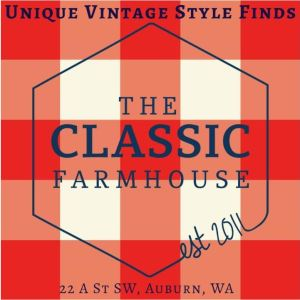 the classic farmhouse, auburn wa, unique vintage furniture, shabby chiq, unique gifts
