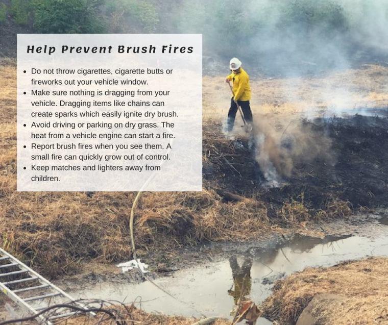 vrfa, valley regional fire authority, brush fire