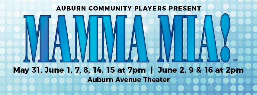 Mama Mia, auburn ave theater, Auburn Avenue theater, Auburn Avenue players