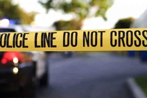 Police line do not cross, crime scene