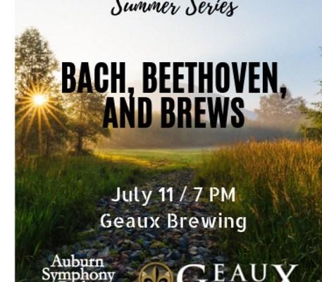 auburn symphony, auburn symphony orchestra, mary olson farm, summer concert series, auburn wa, auburn wa symphony, geaux brewing