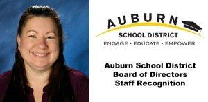 ASD, Outstanding staff member, asd outstanding staff member, auburn school board outstanding staff member