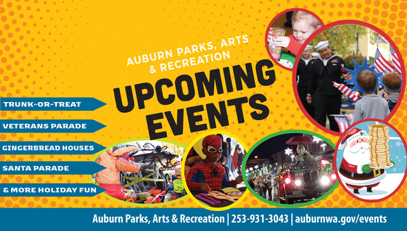 city of auburn, auburn wa, events, auburn events