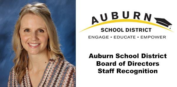 Stephanie Knapp, ASD, Auburn Wa, asd outstanding staff member of the month