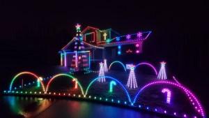 lakeland hill lights, lighted display, allen range, christmas display, animated holiday display