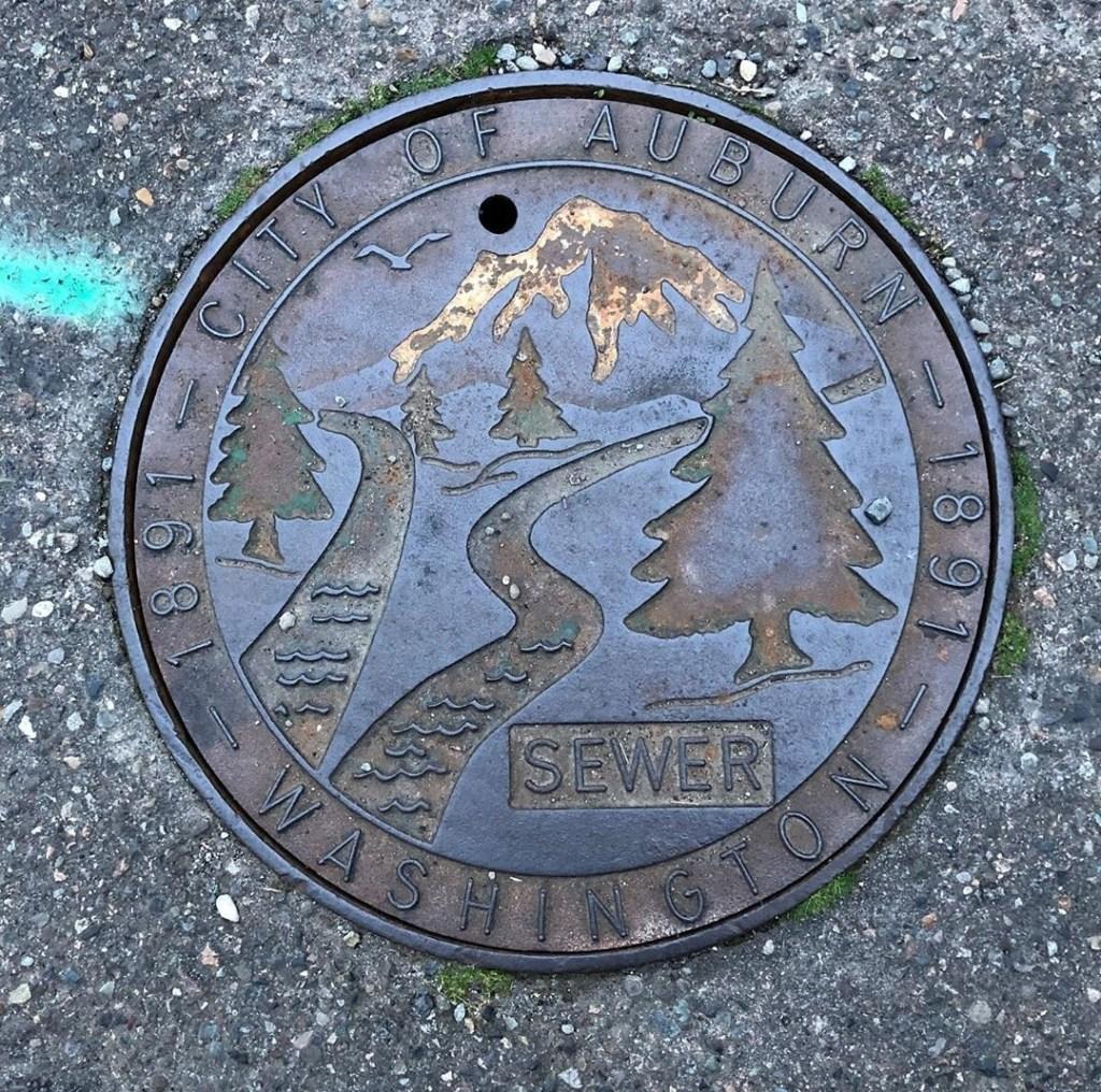 Auburn wa sewer, auburn sewer, king county sewer rate, king county utilities, king county sewer, city of Auburn sewer, auburn wa j.a.w., city of Auburn sewer cover j.a.w.,