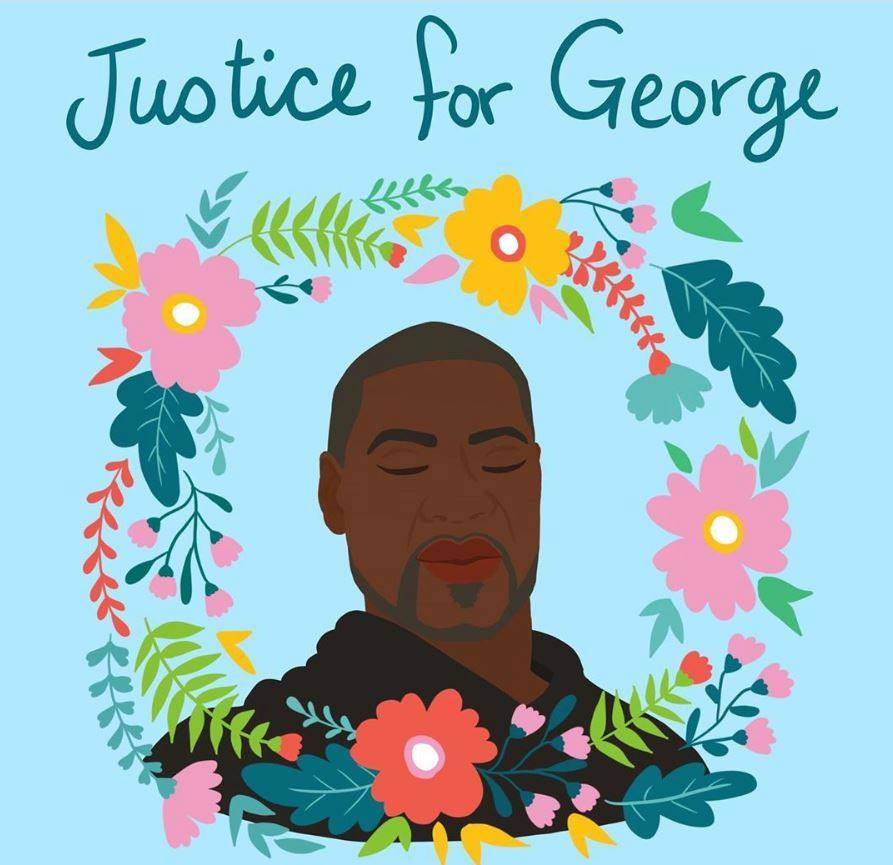 Justice for george, justice for george floyd, george floyd