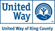 united way king county, logo