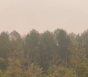 air quality, auburn wa, auburn wa skies, smoky skies, wildfire smokes,
