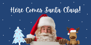 here comes santa, santa clause auburn wa, city of auburn santa, relay for life santa, outlet collection santa