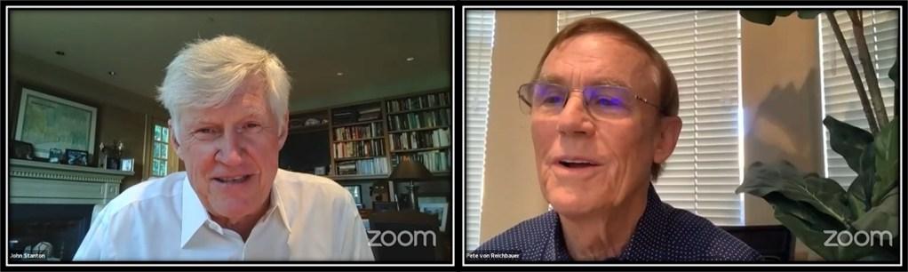 CM Pete von Reichbauer and Seattle Mariners Chairman and Managing Partner John Stanton