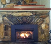 Home Projects - Propane Fireplace Insert by White Mountain ...