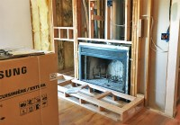 Home Projects - Wood Burning Fireplace to Gas Insert ...