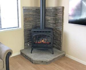 Home Projects Quadra Fire Topaz Gas Stove Auburn Home