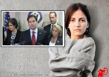 Rosa María Payá una agente del Gobierno norteamericano.