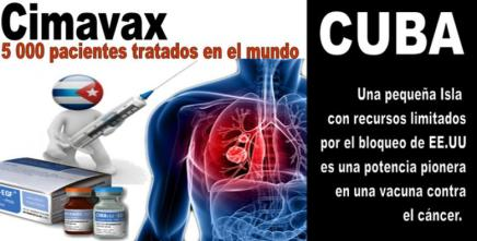 Vacuna cubana contra el cáncer en EEUU