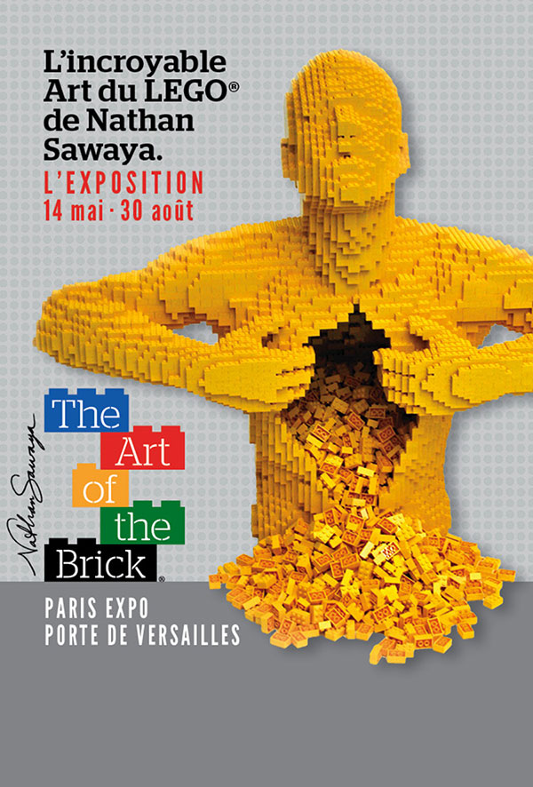 affiche-the art of the brick