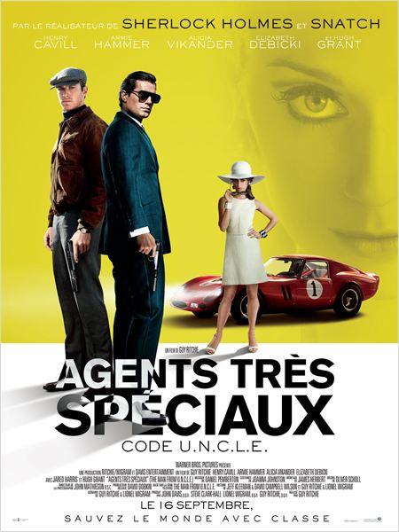 Date de sortie : 16 septembre 2015  Réalisé par : Guy Ritchie Avec : Henry Cavill, Armie Hammer, Alicia Vikander... Genre : Espionnage , Action , Comédie Durée : 1h57min