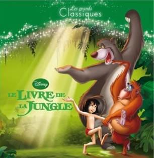 Le Livre De La Jungle produits dérivés Livre Les Petits Classiques - Hachette