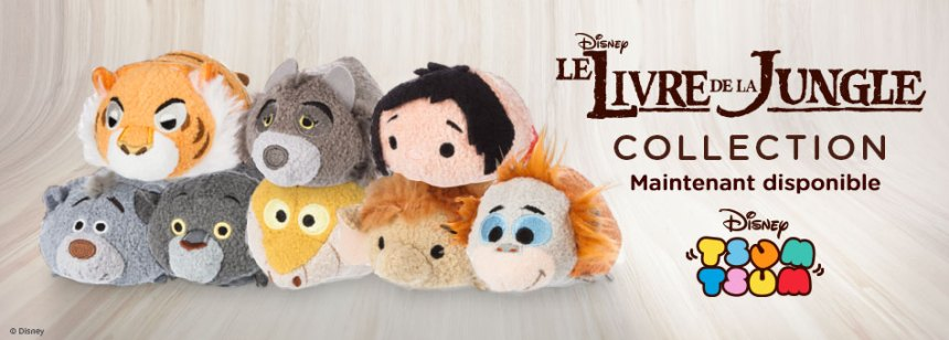 Tsum Tsum Le Livre De La Jungle