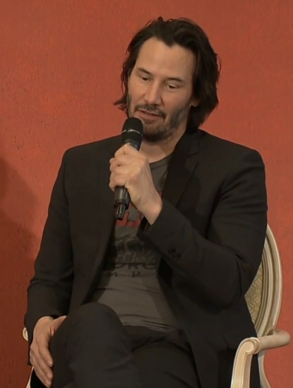 John Wick 2 press conference Keanu Reeves photo 11
