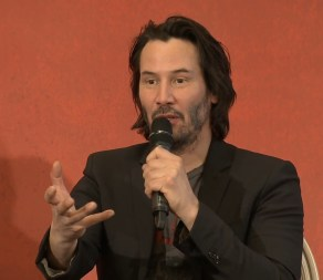 John Wick 2 press conference Keanu Reeves photo 14