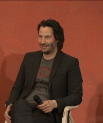 John Wick 2 press conference Keanu Reeves photo 7