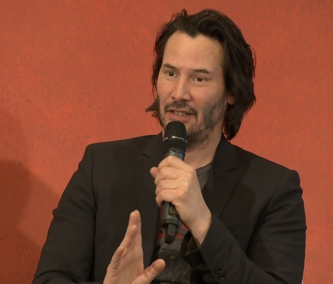 John Wick 2 press conference Keanu Reeves photo 8