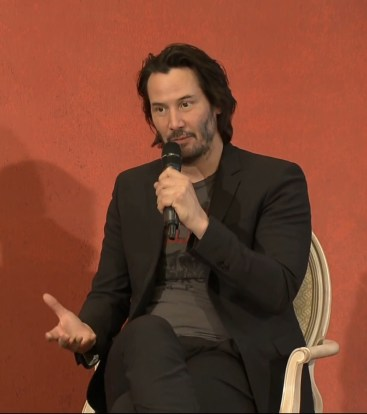 John Wick 2 press conference Keanu Reeves photo 9
