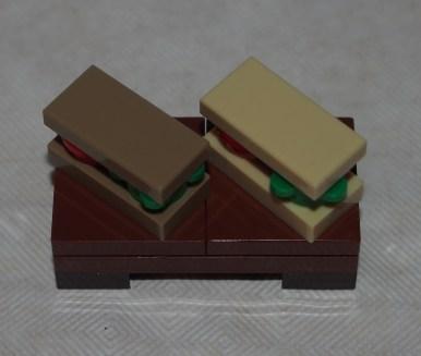Set LEGO 40236 Pique-nique romantique de la Saint-Valentin-sandwich 2