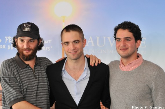 Deauville 2017 Photocall Good Time - Josh Safdie - Robert Pattinson - Benny Safdie