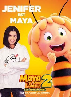 Maya l'abeille 2 Jenifer voix