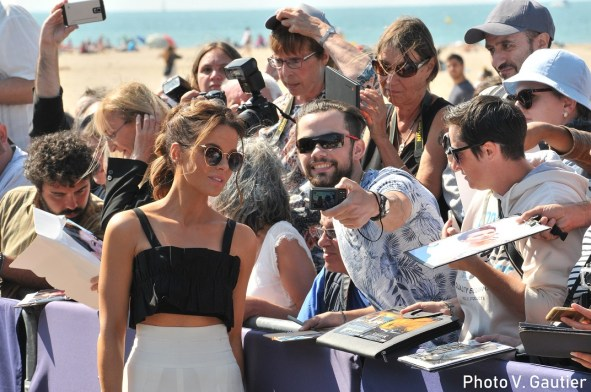 Deauville 2018 Kate Beckinsale fans