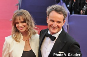 Deauville 2018 tribute jason clarke and wife