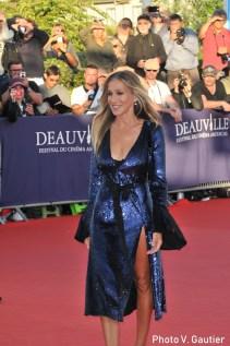 sarah jessica parker red carpet deauville 2018
