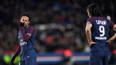 neymar cavani penalty psg dijon